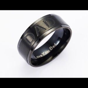 Other - Father's Day special titanium ring with engraving